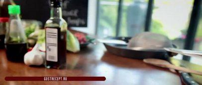 Ингредиенты. Говядина Чили в листьях латука