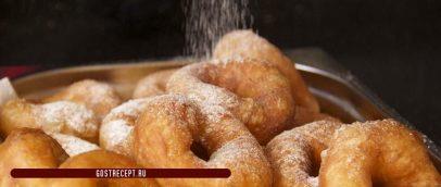 Пончики из сгущенки 2
