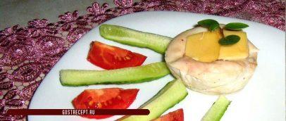 Руладини с сыром и овощами
