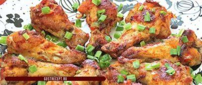 Жареная куриные кралышки в томатной пастой. Готово.